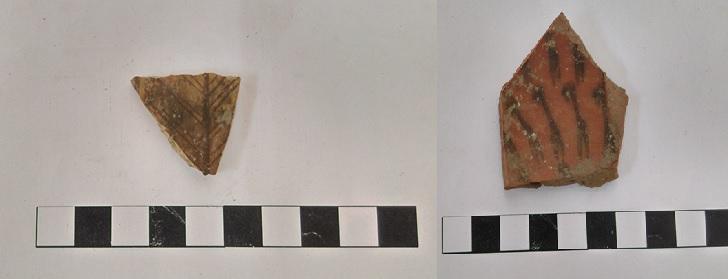 Restos de cerámicas Inca